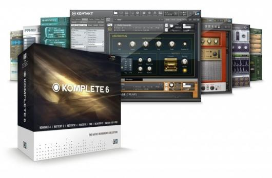 Native Instruments Komplete 6 brings together seven powerful digital music applications for manipulation and production of a whole world of sound