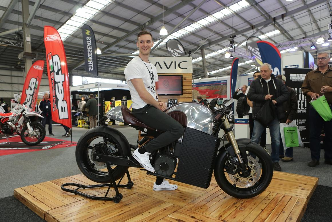 26-year-old Dennis Savic is moving to get a 60-kilowatt electric motorcycle to market in Australia by 2020