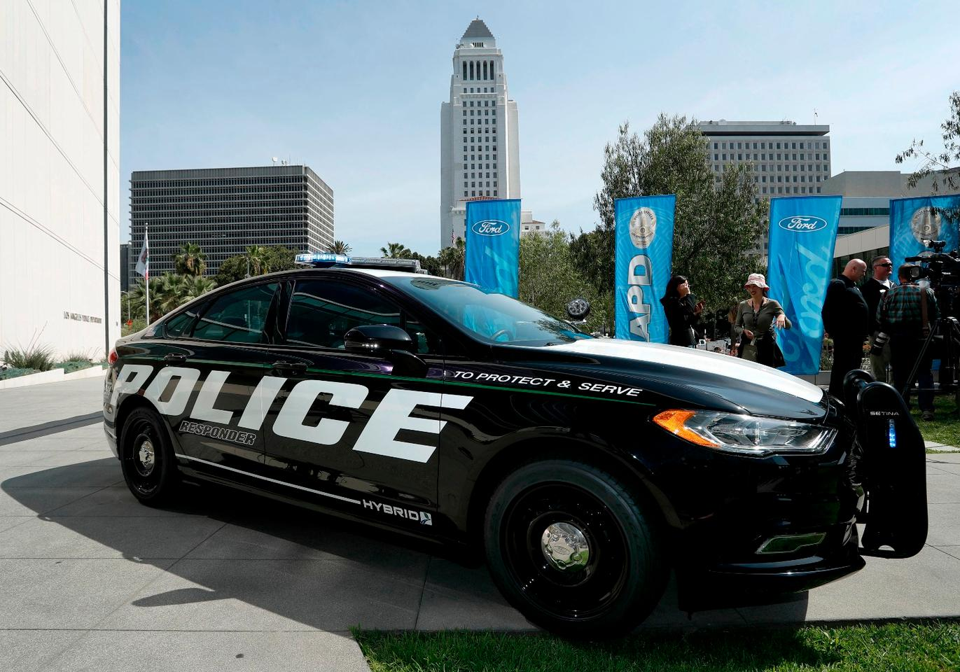 The Hybrid Responder is expected to deliver big fuel savings to local police forces