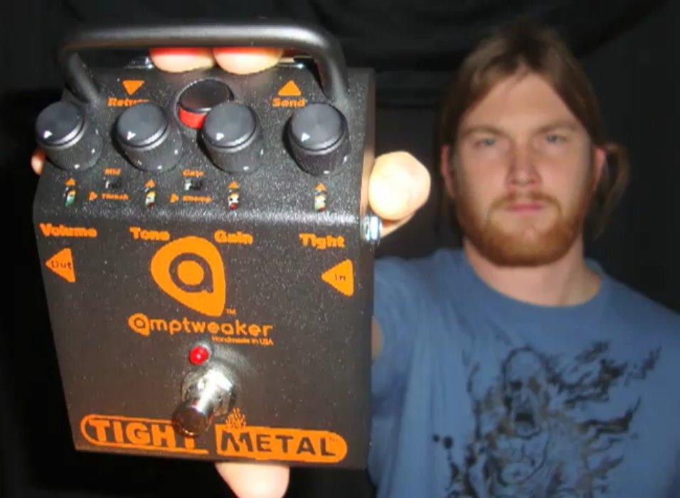 Like many metal players, guitarist Mark Kloeppel was looking for a pedal that would produce powerful metal-edged crunch with a rich harmonic tone but be able to keep up with the whirlwind fret-work and capable of stopping notes really quickly