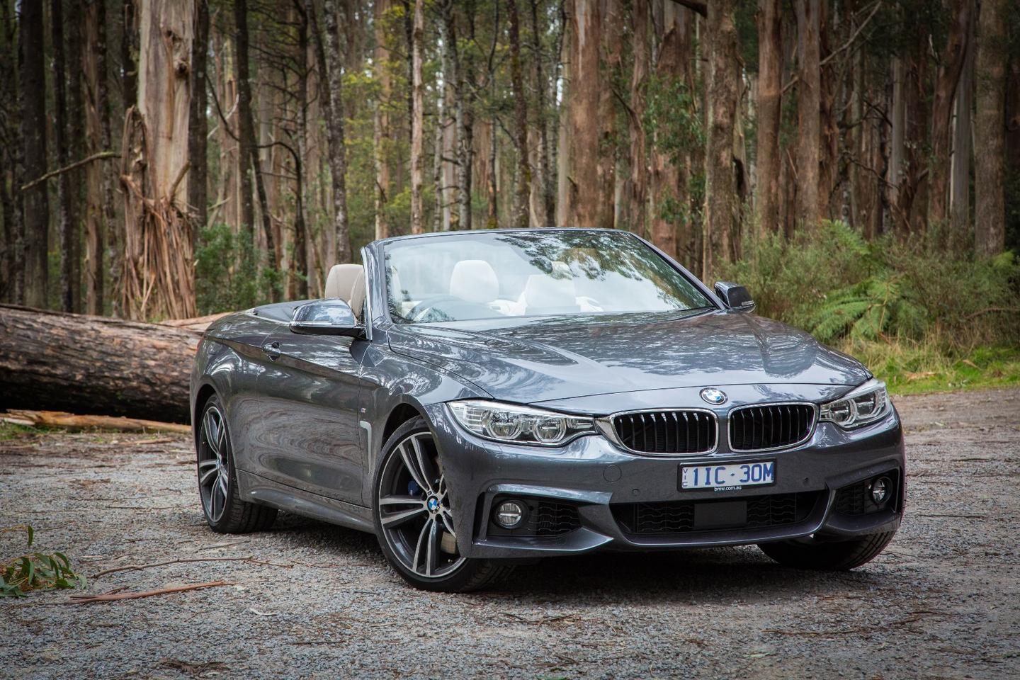 The BMW 440i Convertible is powered by a twin-turbo inline-six