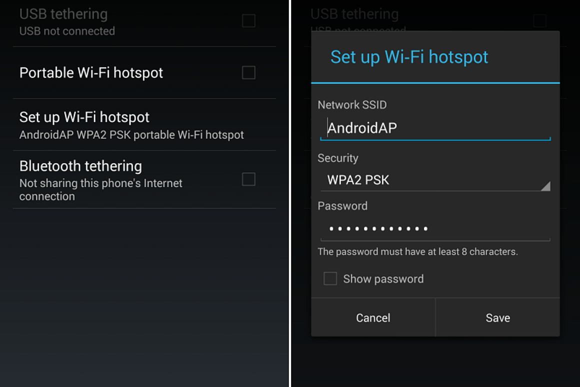 How to turn your smartphone into a Wi-Fi hotspot