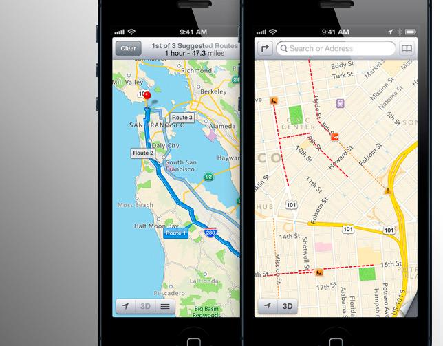 As Apple uses the millions of iOS 6 devices in the wild to crowdsource data, Maps can improve rapidly