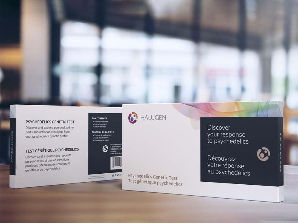 HaluGen's psychedelic genetic test is currently on sale in Canada and the company expect to launch in the US later this year