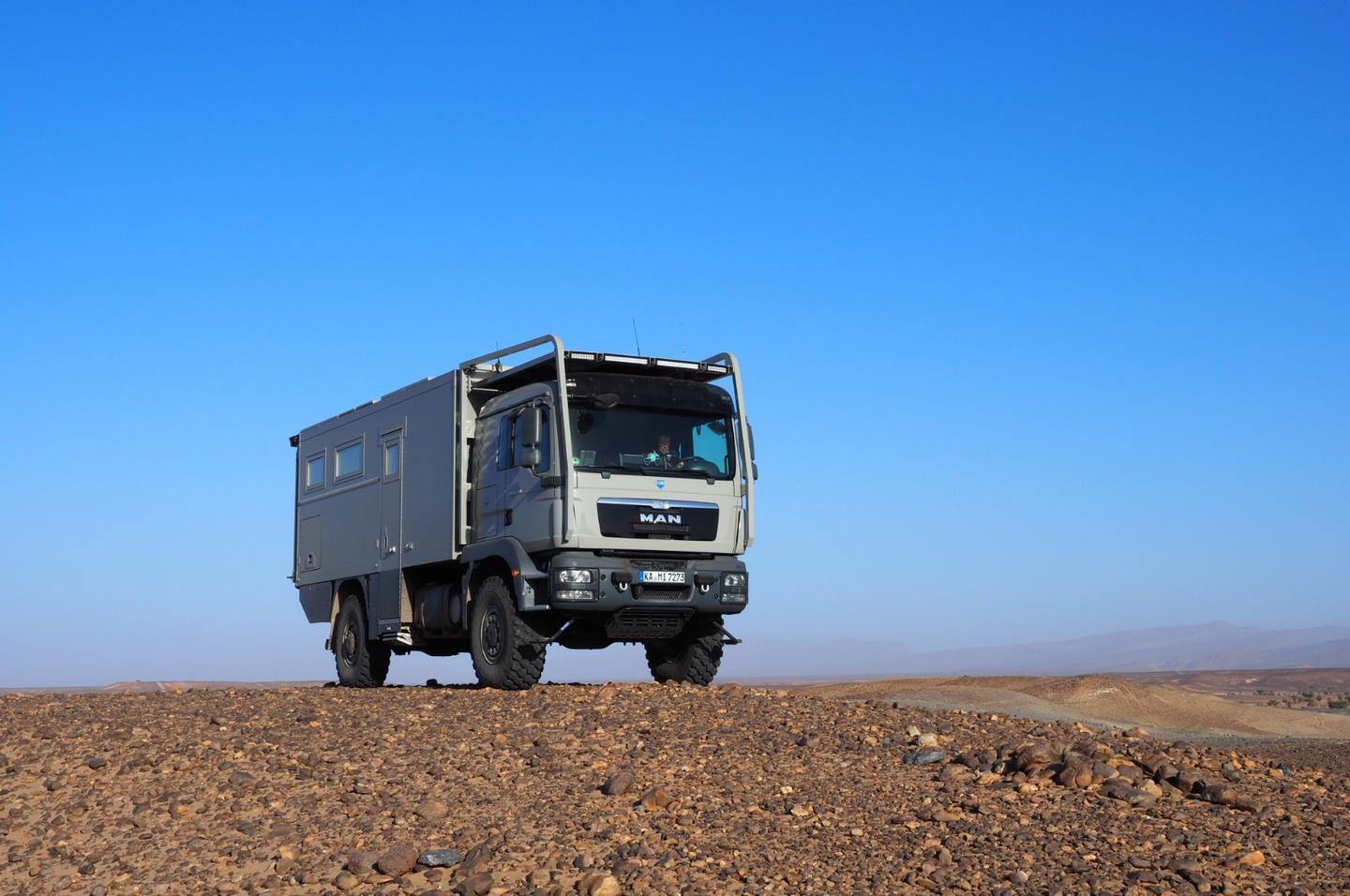 Unicat doesn't mess around when it comes to big, burly expedition vehicles, and the MAN MD57 is no exception