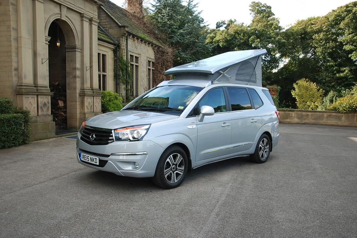 The new SsangYong Tourist camper van is on showat the Motorhome & Caravan Show this week