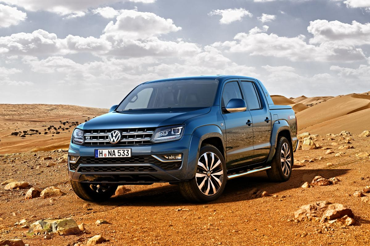 VW's new Amarok has a new engine, steering and brakes for a smoother drive