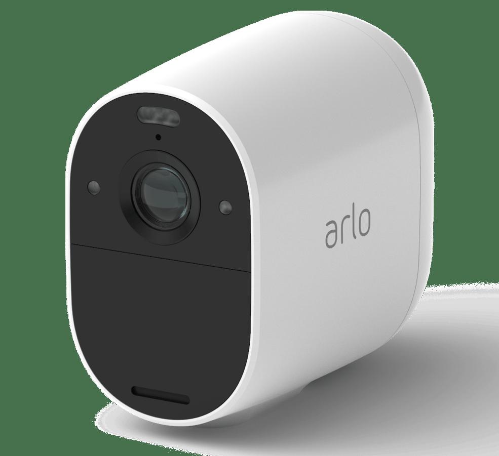 The Arlo Essential spotlight camera