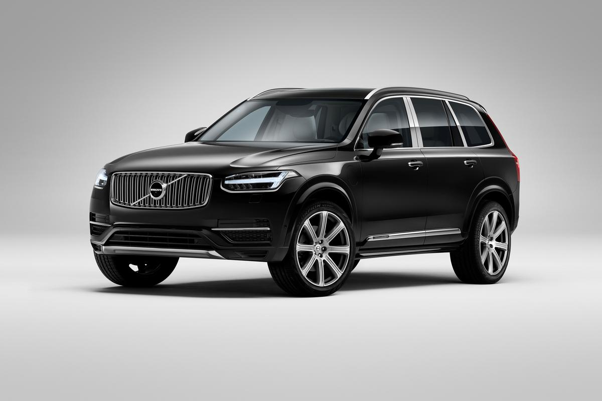 Volvo's XC90 Excellence is intended to add business jet-like luxury to Volvo's SUV flagship
