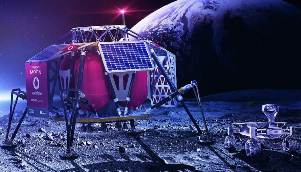 Vodafone 4G network will enable live-streaming of HD video from the Moon's surface