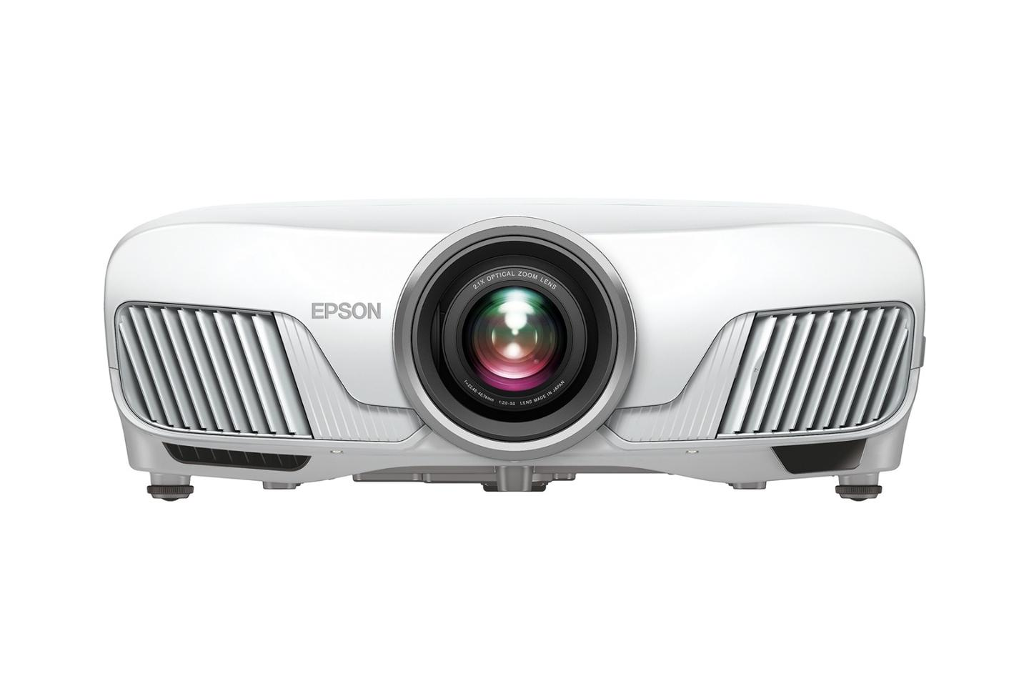 "The Home Cinema 4010 is powered by Epson's new 4K Pro-UHD optical engine for ""high color brightness and white brightness, color accuracy and dramatic contrast with HDR10"""
