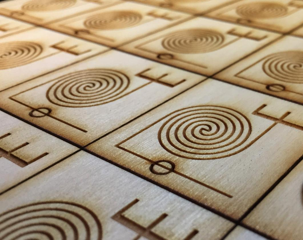 These may look like Scrabble tiles, but they're potentially a lot more useful