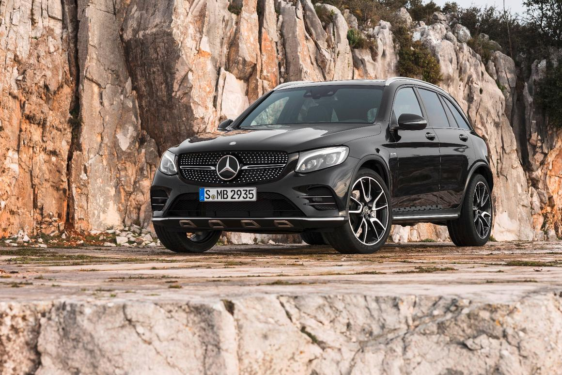 Glc 43 Amg >> Mercedes Amg Halfway House Grows To Include Glc 43 Mid Size Suv