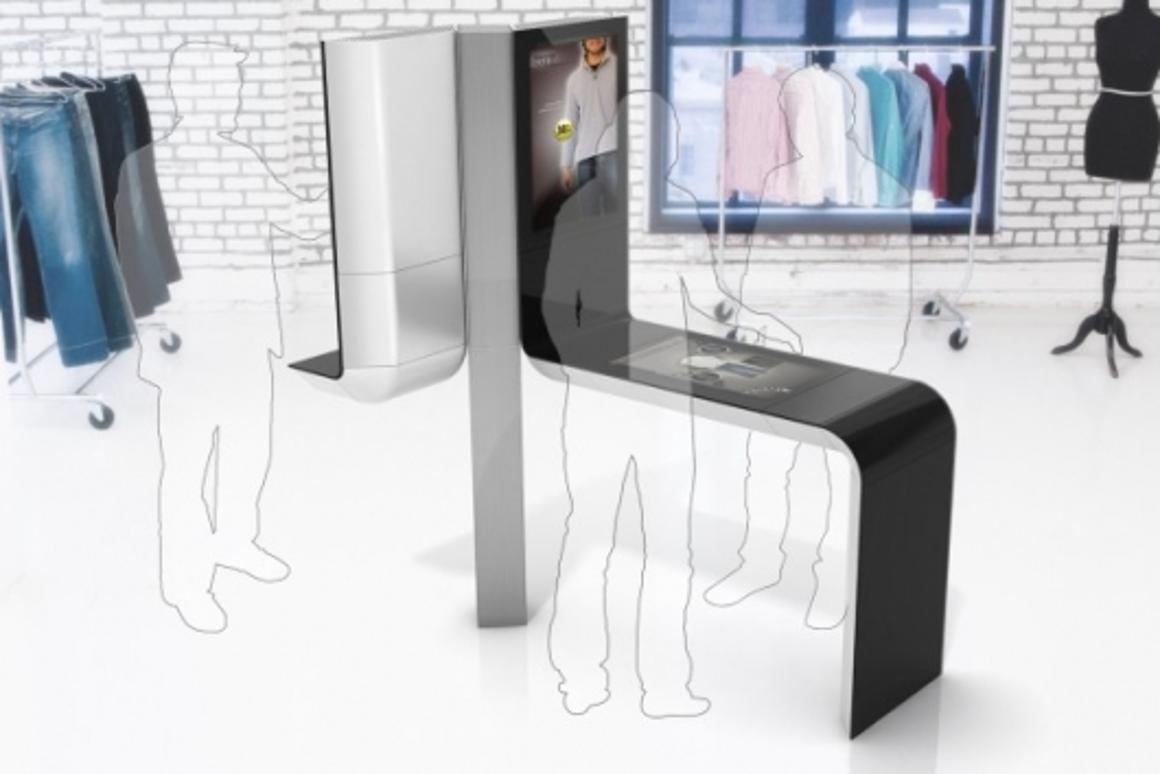 The Intel Point-Of-Sale kiosk designed by Frog Design