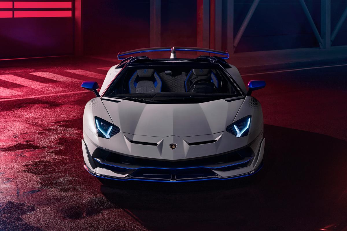 The Aventador SVJ Xago is a special-edition supercar designed to get people to personalize their cars online instead of going into a dealership