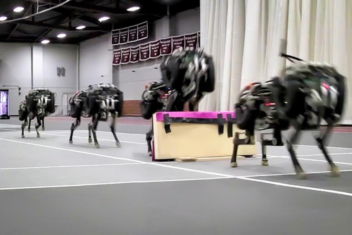 MIT has trained its robot cheetah to identify and leap over objects in its path