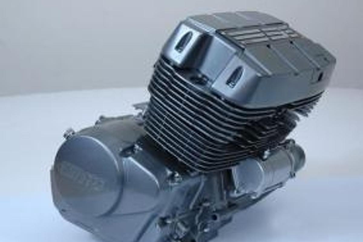 Vento's custom-designed 400cc inline triple will appear in a range of the company's 2008 motorcycles and ATVs.