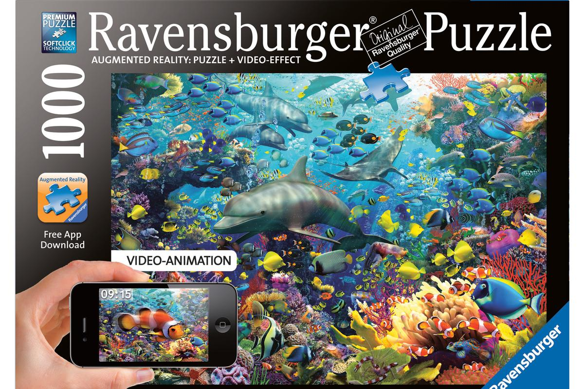 German puzzle maker Ravensburger has created four new jigsaw puzzles which can be brought to life using an app for the iPhone or iPad 2