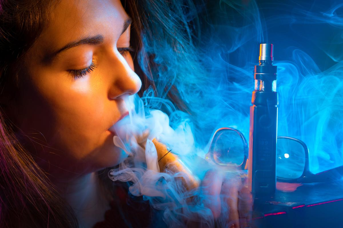 New research suggests e-cigarette vapor weakens the integrity of gut lining and leads to chronic inflammation
