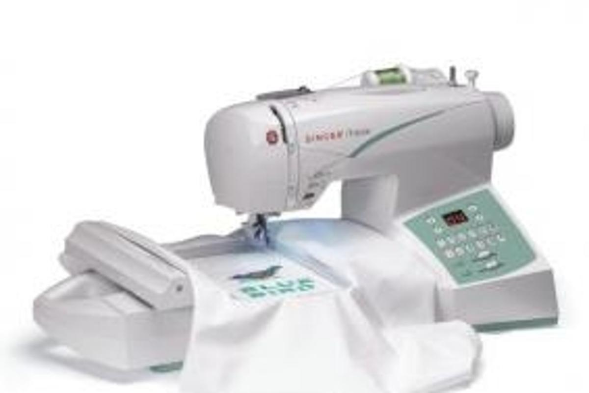 Singer's Futura CE250 sewing and embroidery machine