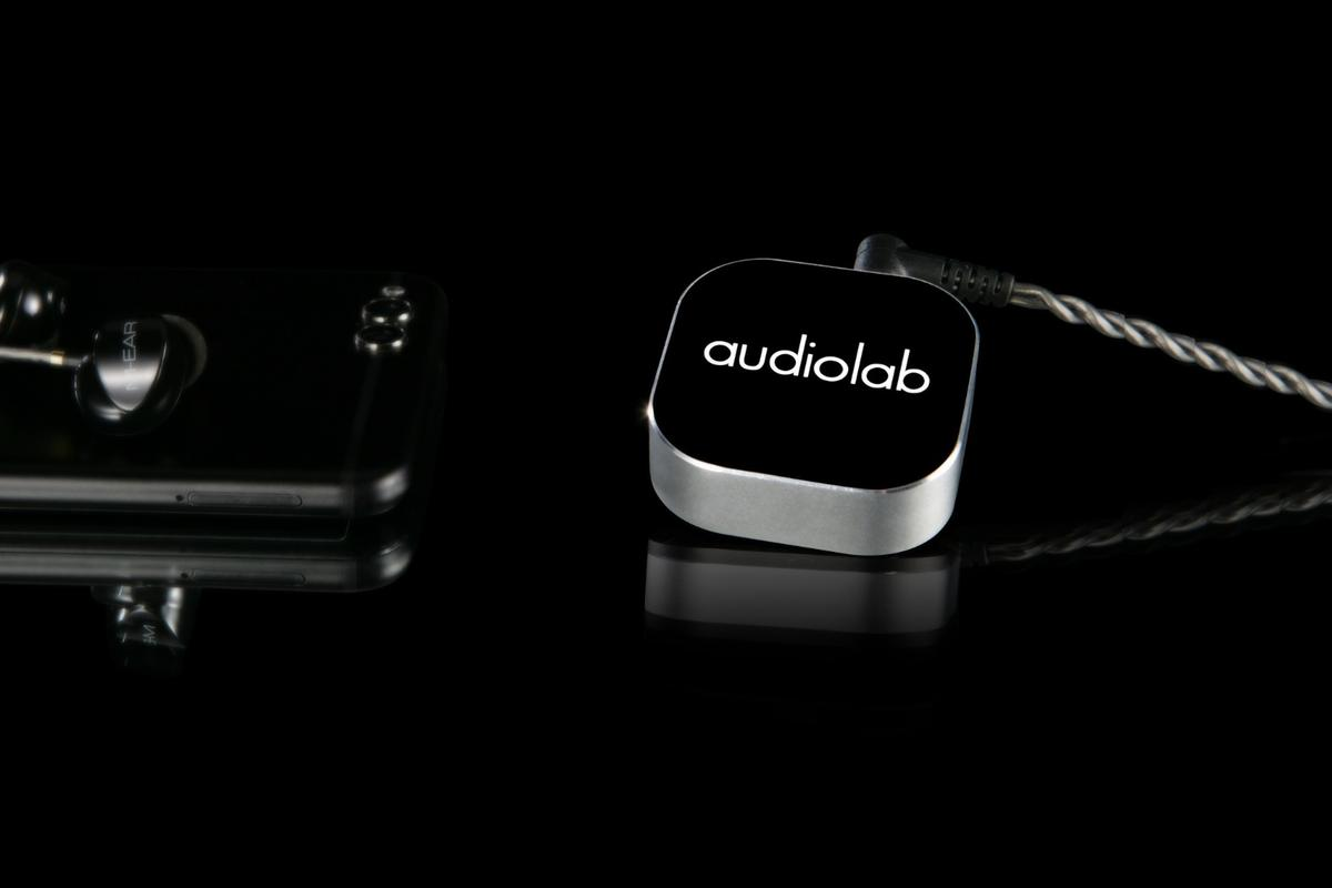 Audiolab's M-DAC Nano doesn't need to be cabled up to a mobile music source, but you will still need to plug your preferred earphones into the unit