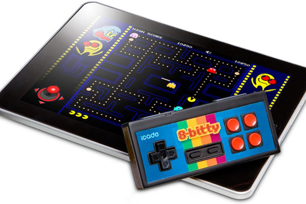 ThinkGeek has announced the NES-inspired iCade 8-Bitty - the latest in its range of retro gaming controllers for iPhone, iPad and Android