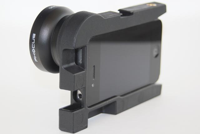The Phocus photography accessory for iPhone 4/4S