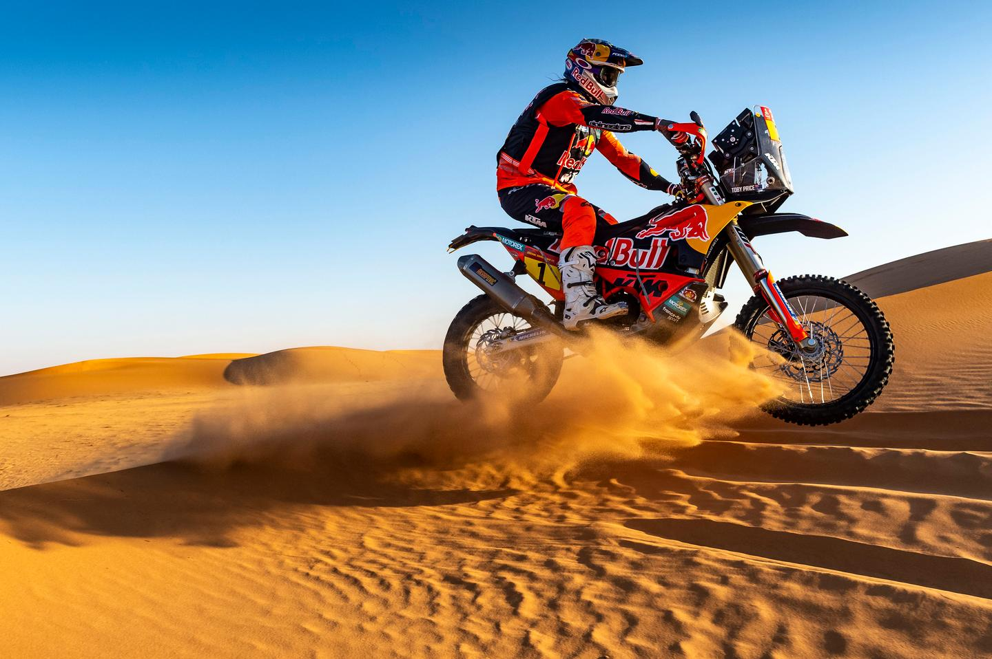 You can buy close to the same bike as the KTM Rally team rolls with