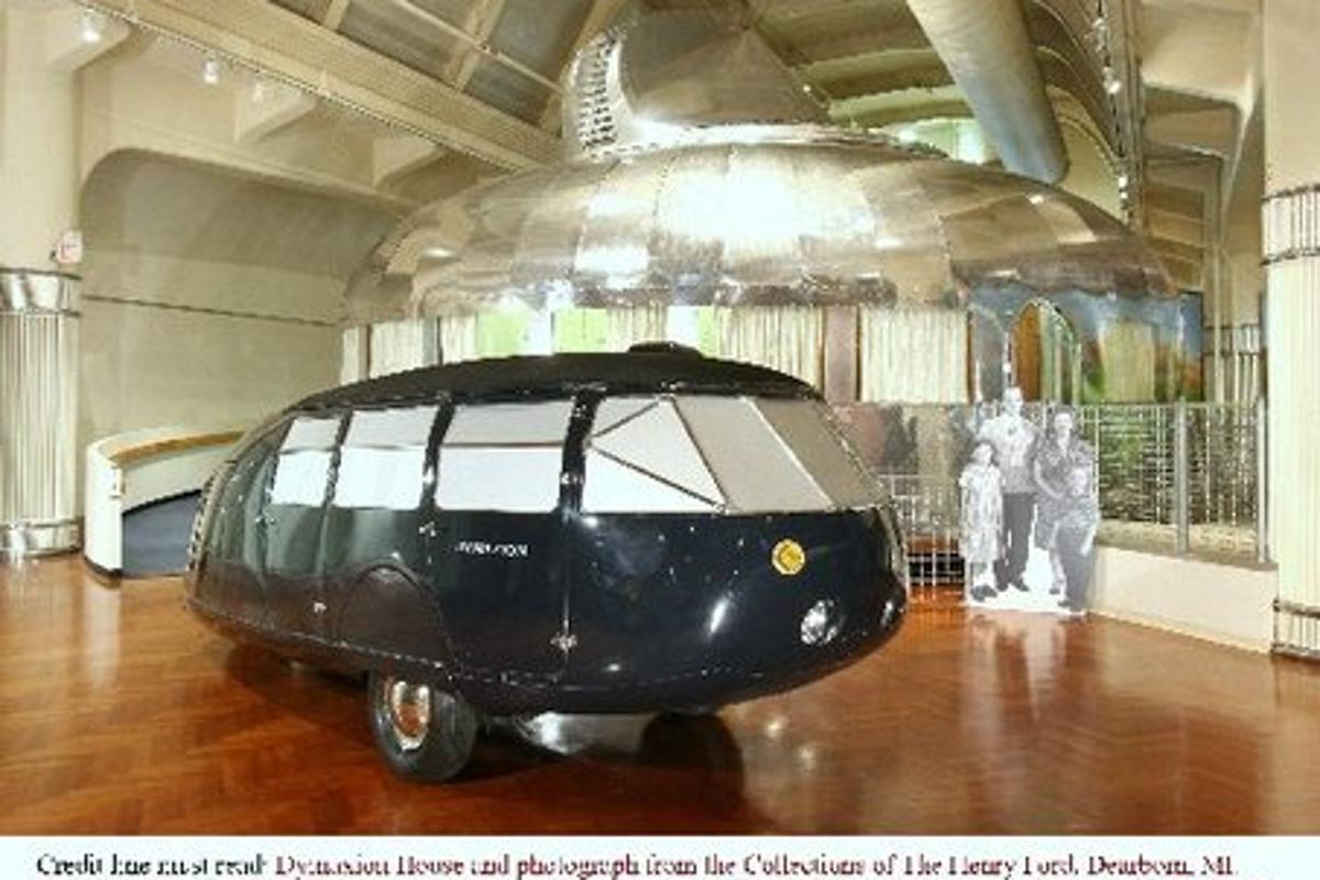 The last remaining original Dymaxion (Photo: National Automobile Museum, Reno, Nevada)