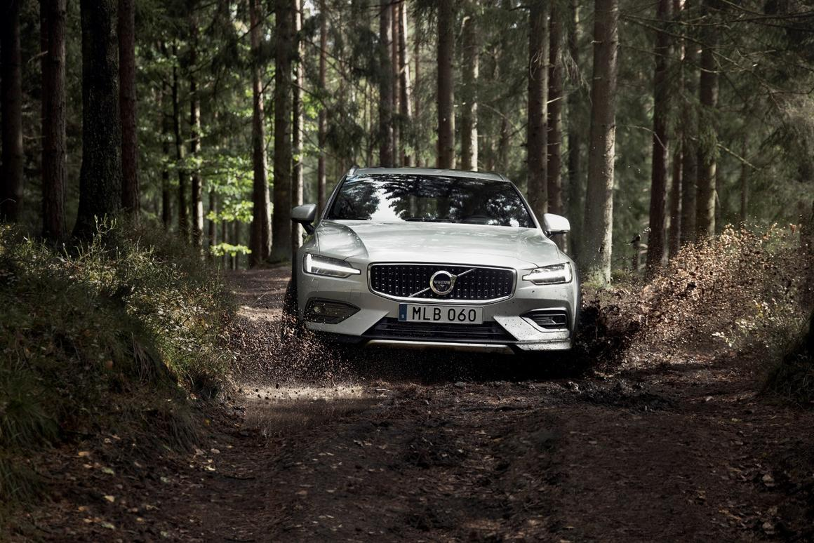 Volvo's V60 estate gets dirty with Cross Country off-road