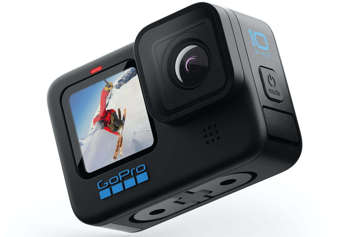 The Hero10 Black's maximum resolution of 5K/60fps is higher than that of any previous GoPro camera