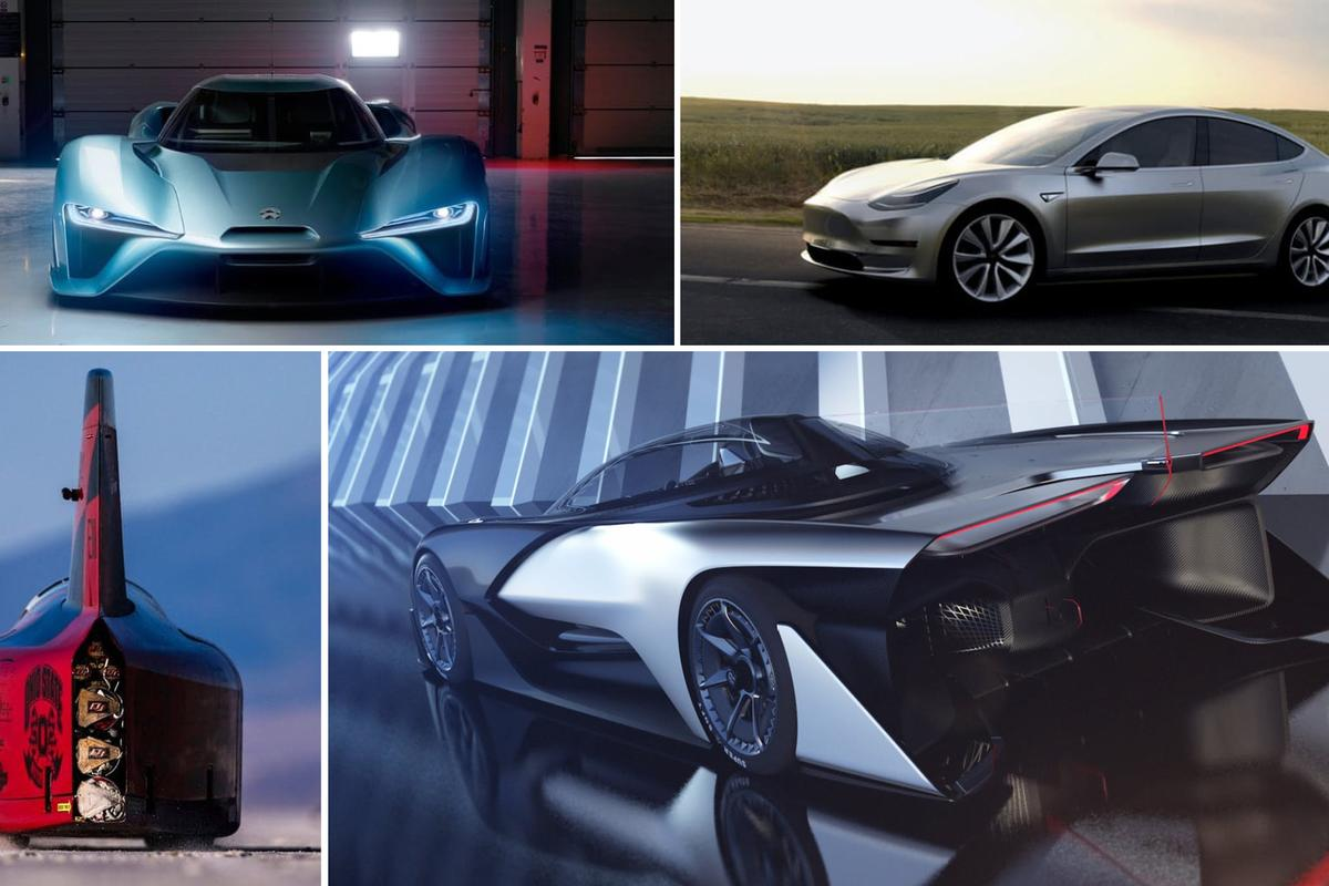 The cutting edge EVs of 2016