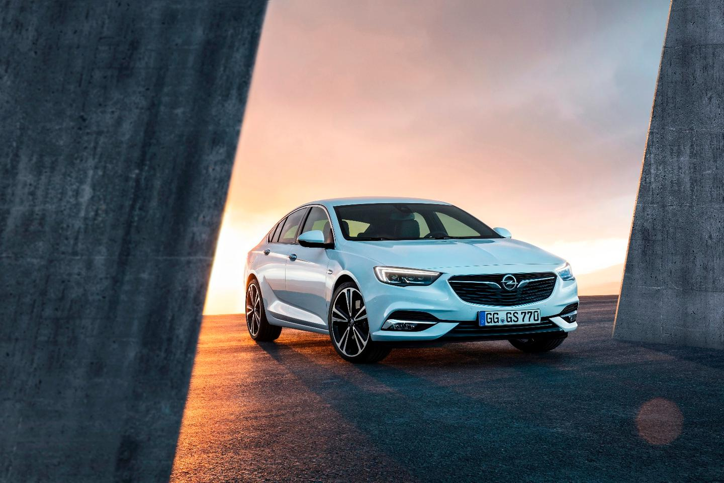 The new Insignia Grand Sport is bigger and lighter than the car it replaces