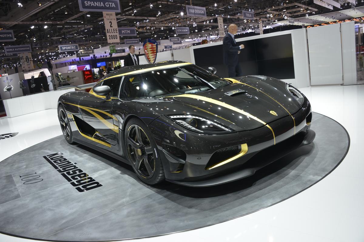 The Koenigsegg Hundra debuts in Geneva