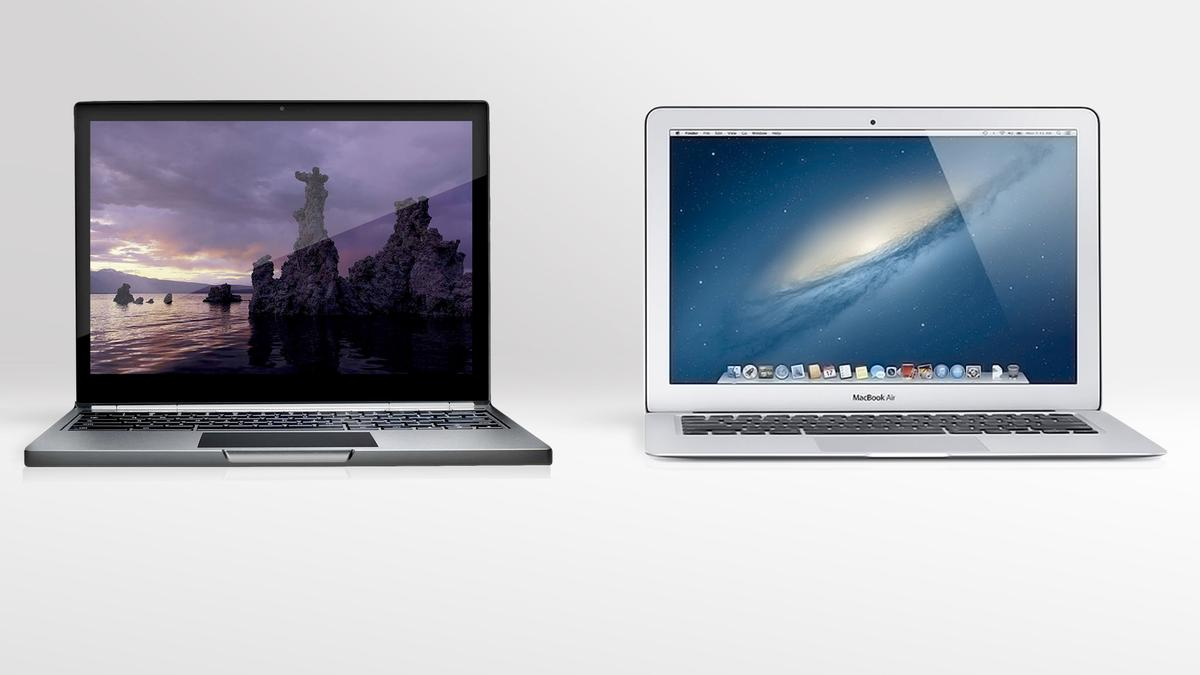 How do the specs – and other features – of Google's new Chromebook Pixel compare to the MacBook Air?