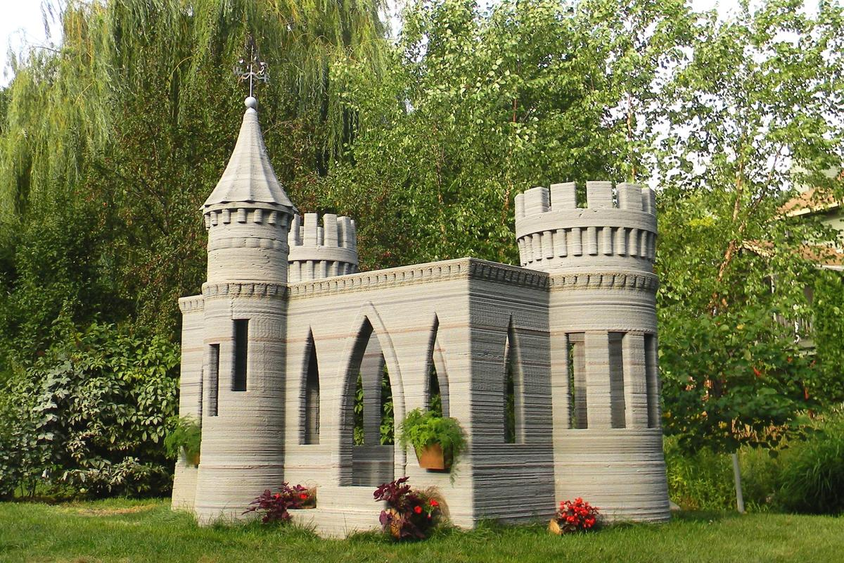 Andrey Rudenko's 3D-printed castle