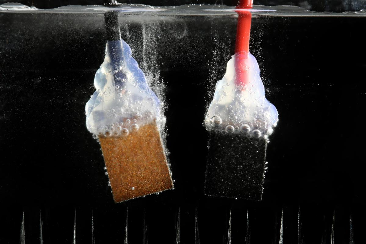 Researchers have achieved a solar energy to hydrogen conversion efficiency of 12.3% using abundant materials (Photo: EPFL)
