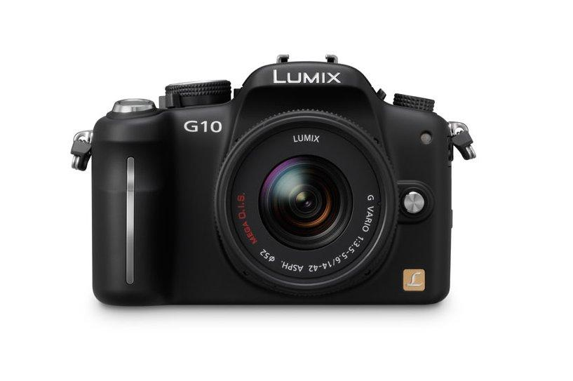 Panasonic's lightweight DMC-G10