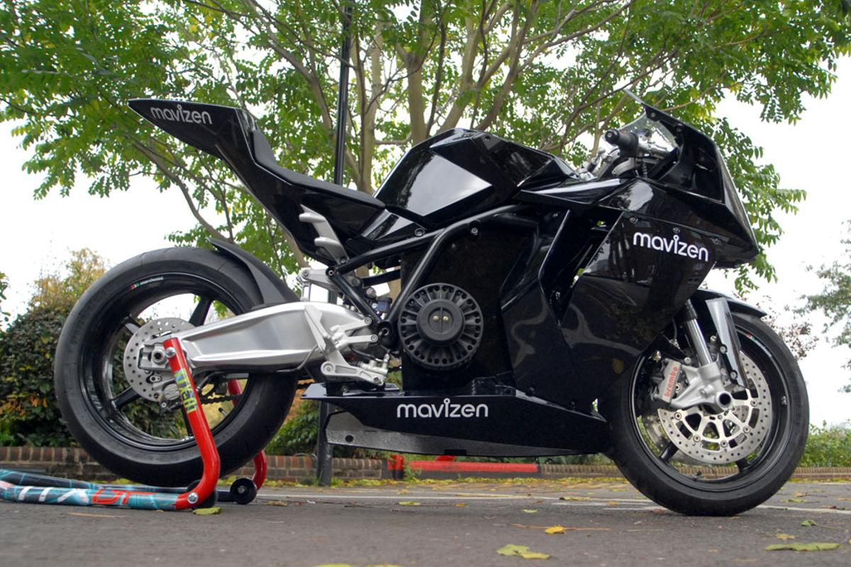 Mavizen TTX02 electric motorcycle