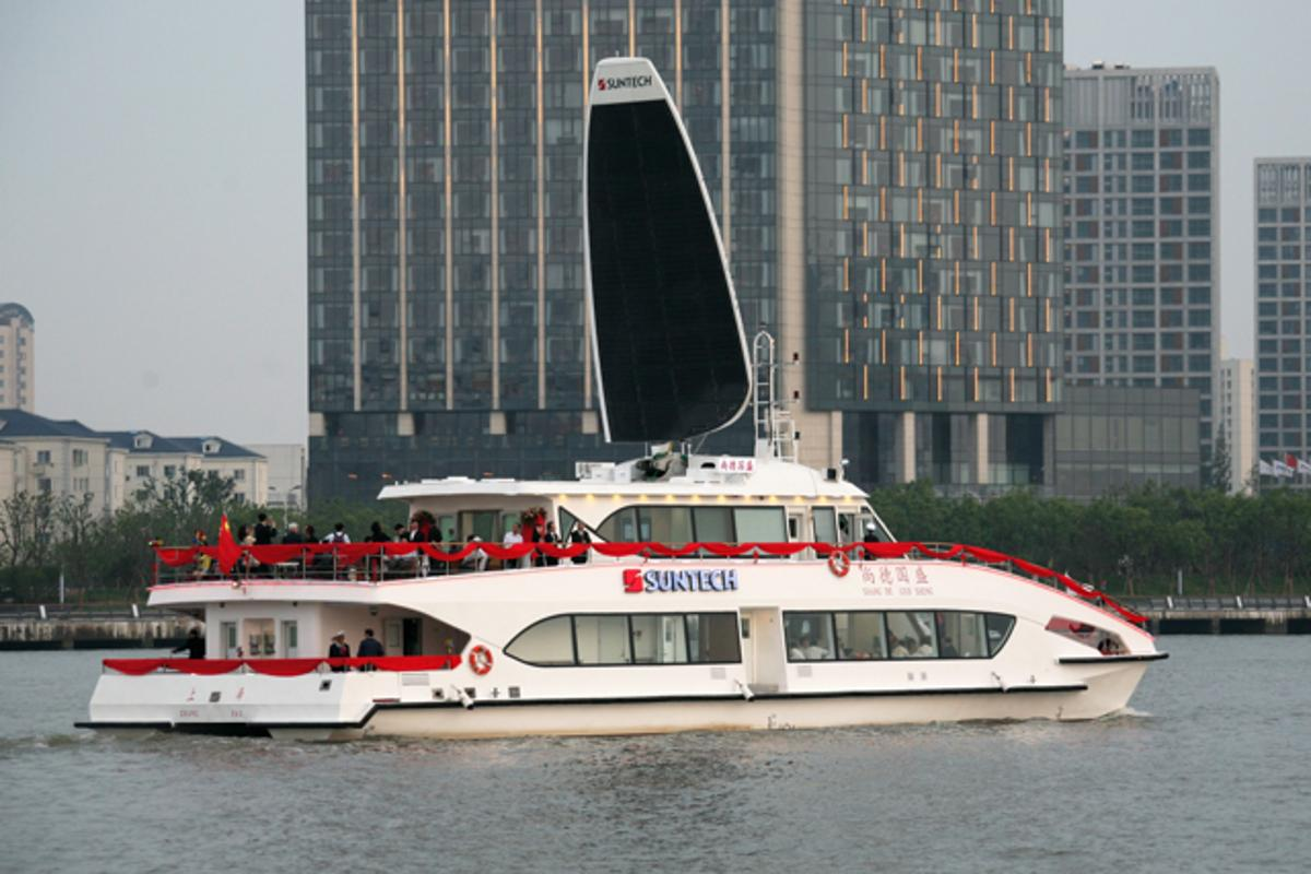 The Suntech-Guosheng Solarsailor ferry