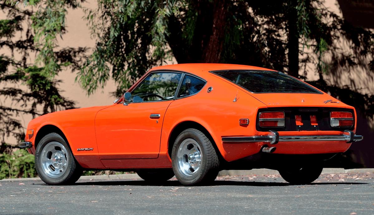 1973 Datsun 240Z   Estimate: from $60,000 to $75,000   Auction House: Mecum   Official Auction Description
