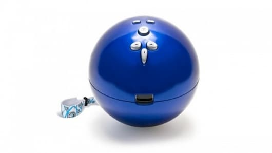 The Bowling Ball for Wii controller