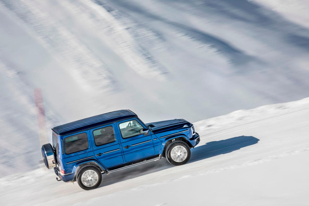 Mercedes-Benz G 350 D: diesel power comes to the new G-Class
