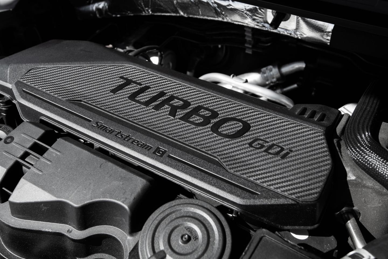 Kia offers two K5 turbo GDI engine options
