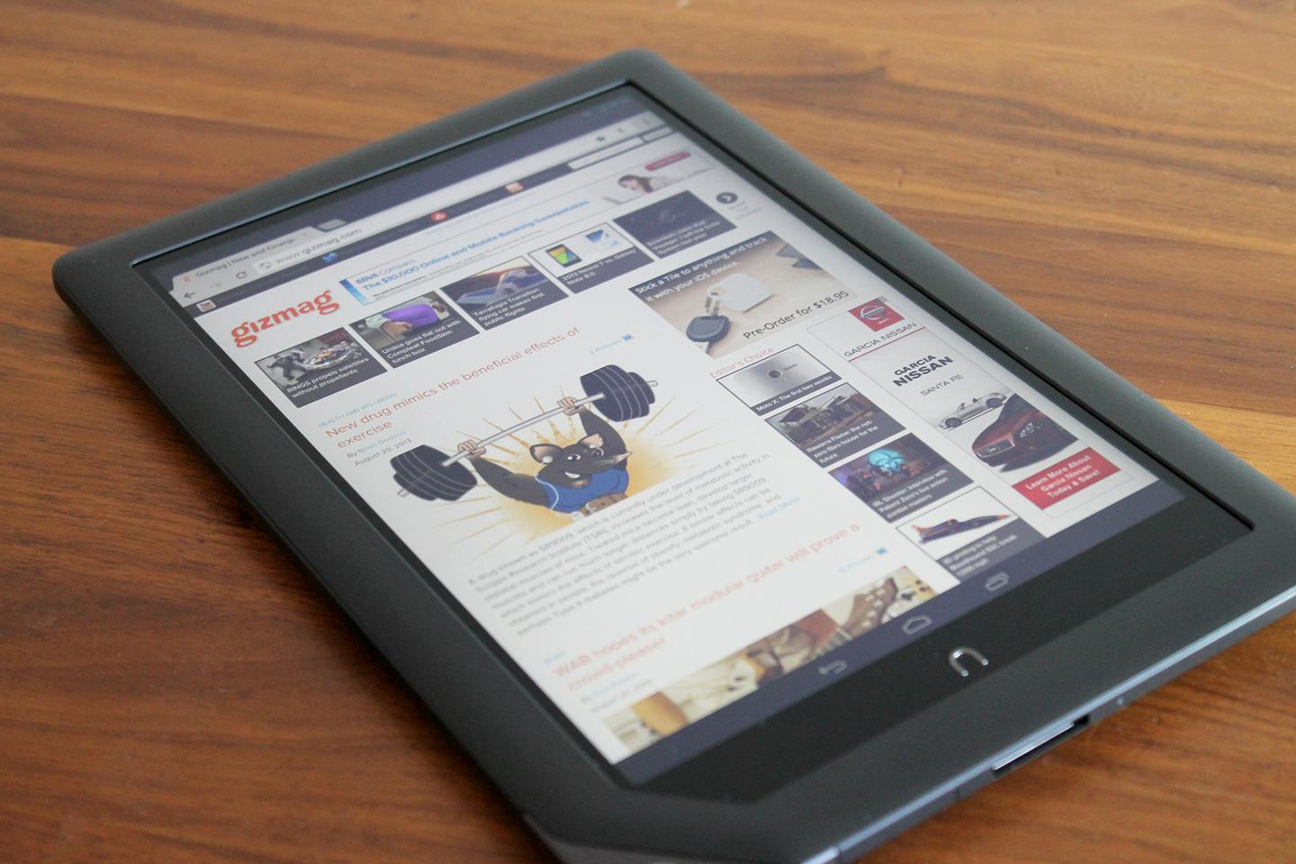 Barnes & Noble did a bit of flip-flopping today, saying it will continue making tablets like the Nook HD+ (above) after all