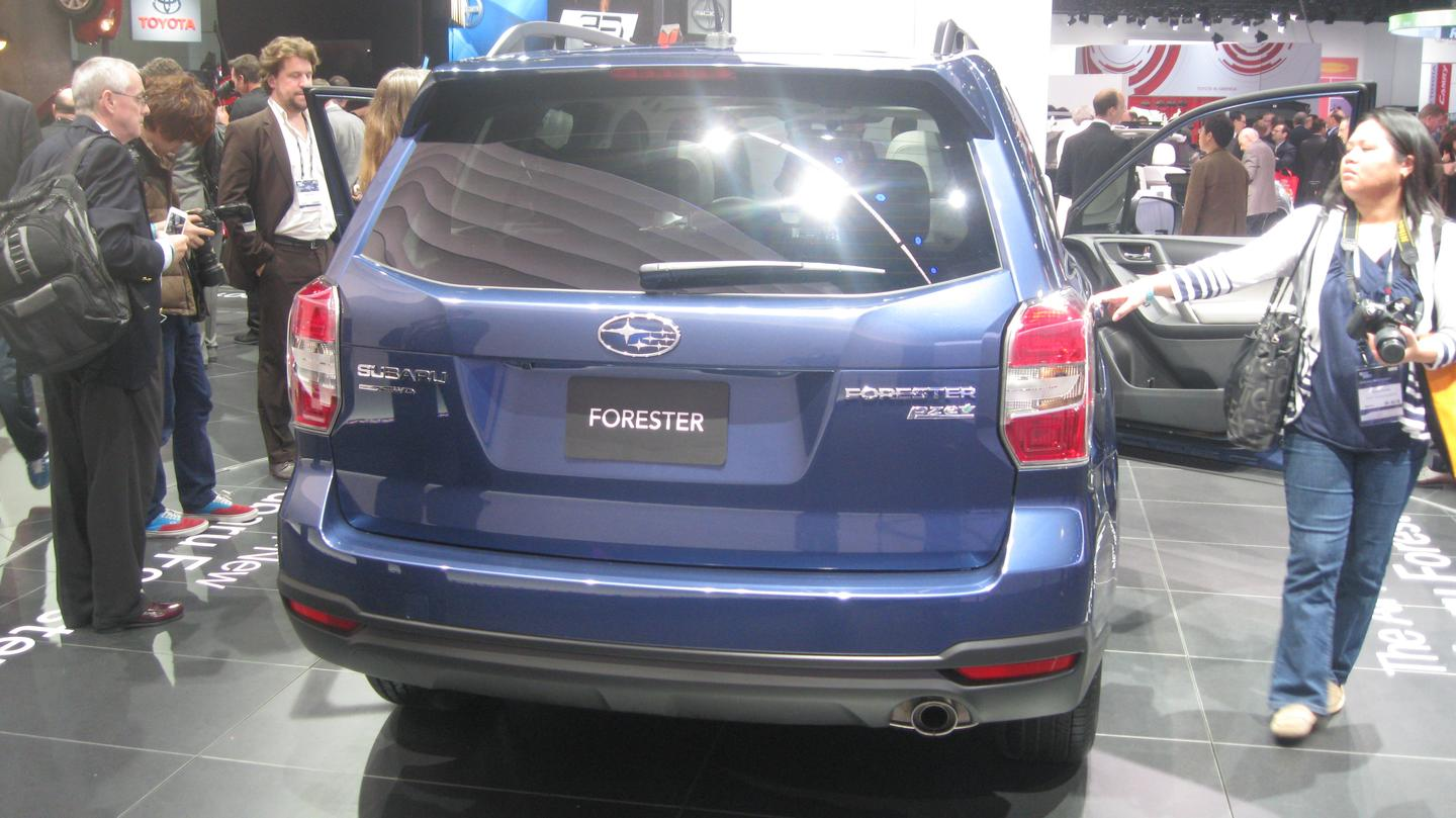 The 2014 Forester in L.A.