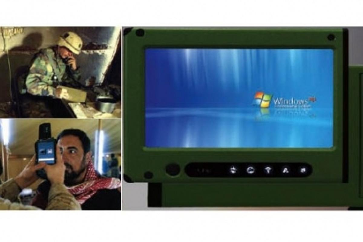 The AMREL HC-2 features a Windows XP interface and 128GB solid state drive (Image: AMREL)