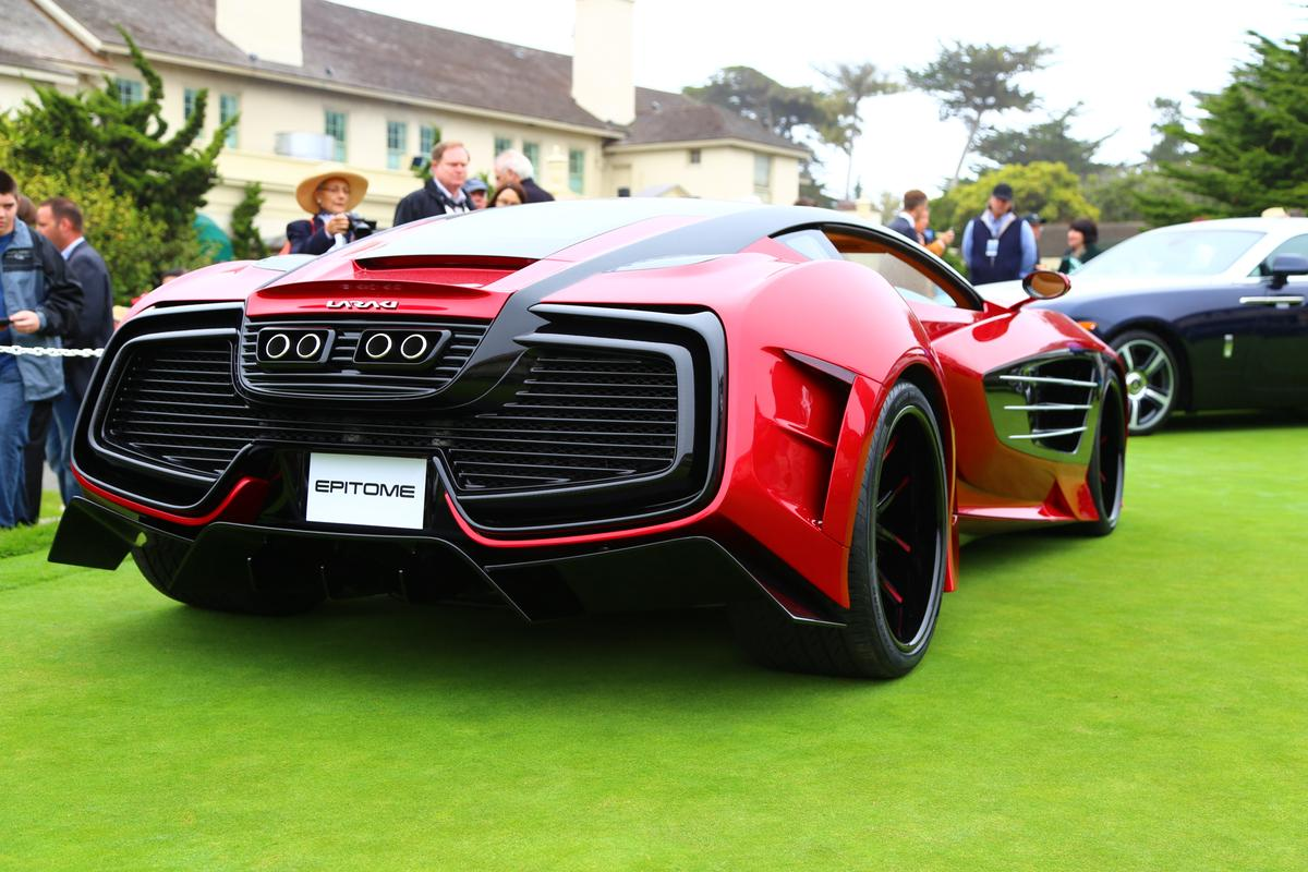 Gizmag's photo highlights from the concept lawn at the Pebble Beach Concours d'Elegance (Photo: Angus MacKenzie/Gizmag.com)