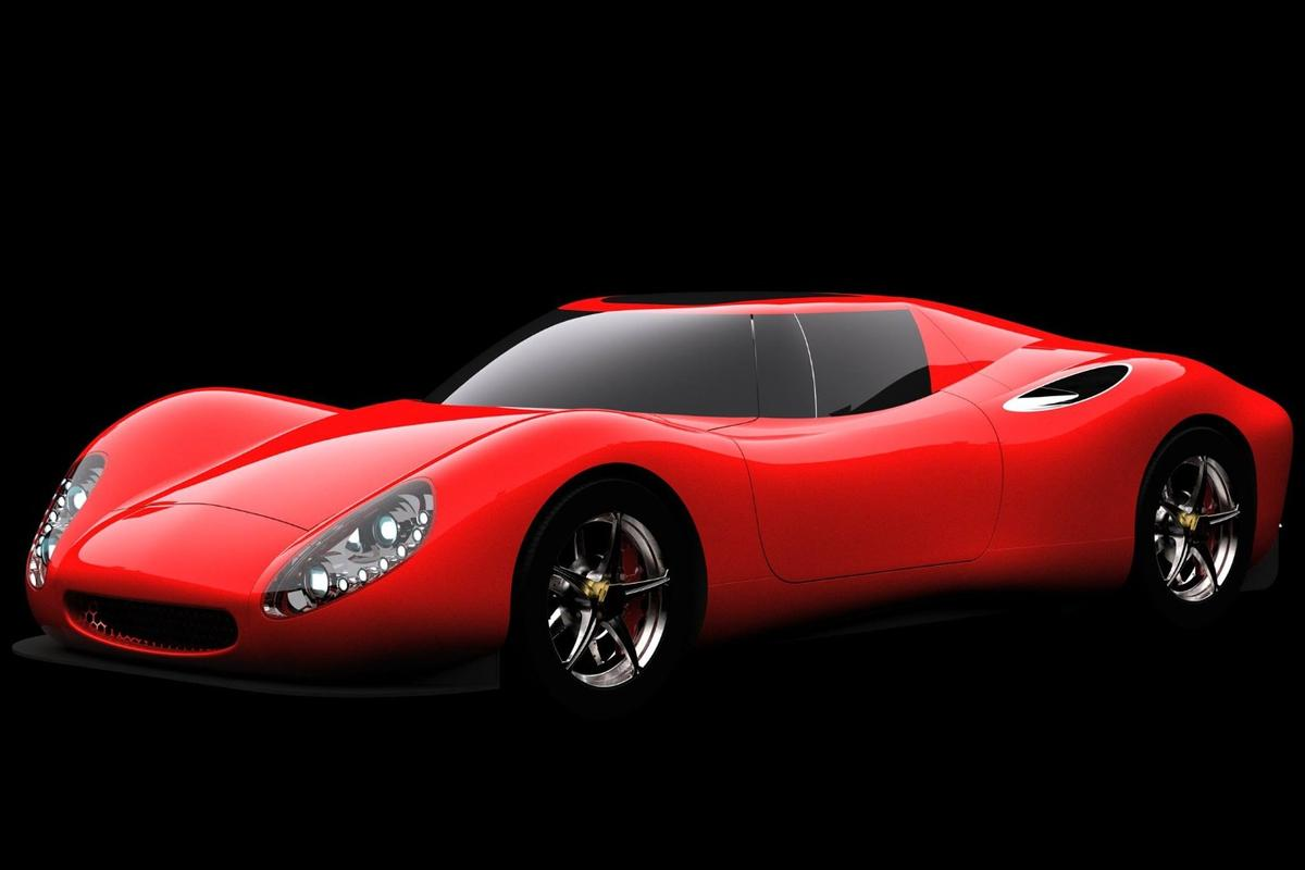 Its curves reminiscent of 1960s race/road cars, the Corbellati Missile is an 1,800-horsepower V8 weapon