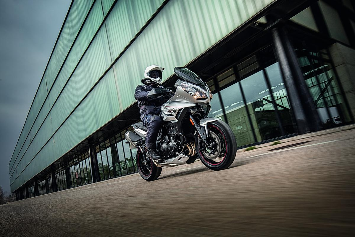 Triumph has extensively revised the 2016 Tiger Sport